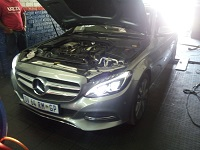 Mercedes C220 CDI W205 Performance Chip Tuning - ECU
