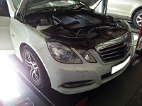 Mercedes E250 CDI W212 Performance Chip Tuning - ECU